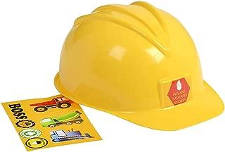 Aeromax Jr. Construction Helmet with Stickers