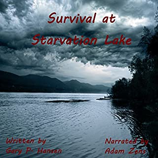 Survival at Starvation Lake audiobook cover art
