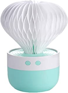 USB Cool Mist Humidifier With Night Light, Mini Size Cactus Humidifier For Bedroom Home Office Car With Timed Auto Shutdow...