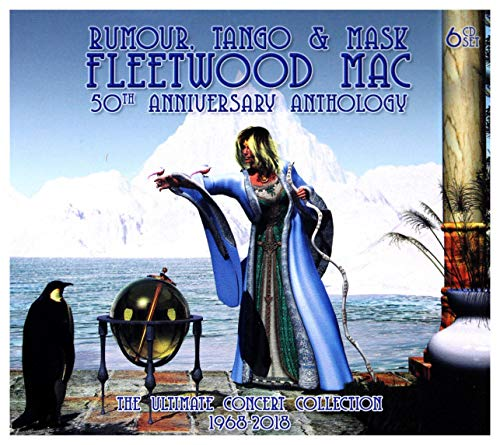 FLEETWOOD MAC - RUMOUR, TANGO & MASK - 50TH ANNIVERSARY ANTHOLOGY: 6 CD SET