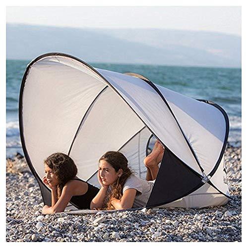 LKIHAH Pop Up Beach Tent - Ultra Lichtgewicht Snelheid Open Strand Zonneschaduw Tent Outdoor Camping Park Vrije tijd Tent Waterdicht