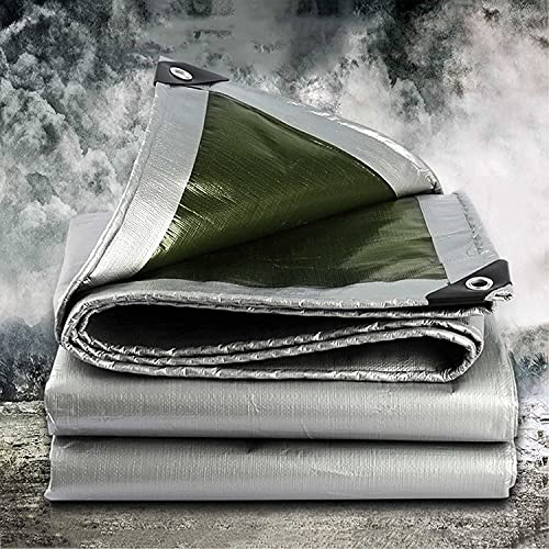 Toldo reforzado,Cubierta de lona de lona de PE de alta resistencia, cubierta...