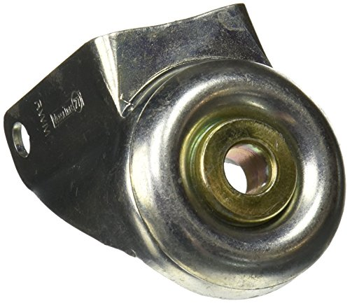 RWM Casters 27-0412-S-HKP-1/2' 27 Series Versatrac 4' x 1-1/4' with Hollow Kingpin 1/2' Swivel Rig
