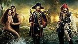 QIANQ Póster Piratas del Caribe: Grupo 2 Puzzle 1000 Piezas para Adultos, DIY Arte Rompecabezas, Puzzles Souvenir Regalo Obra de Arte de Juego de Adulto Rompecabezas