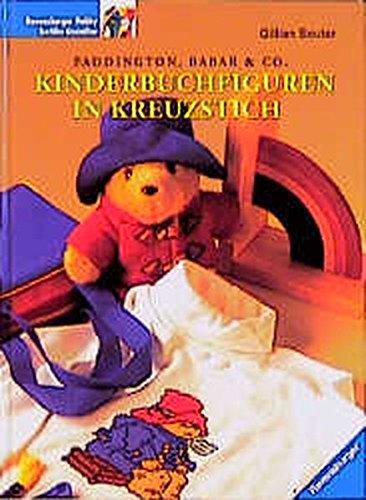 Kinderbuchfiguren in Kreuzstich