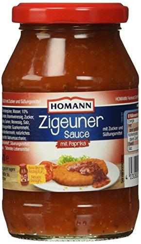 Homann Zigeuner Sauce, 6er Pack (6 x 250 ml)