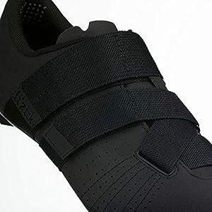 Fizik Tempo R5 Powerstrap Cycling Shoe, Black/ - 45, Black/Black