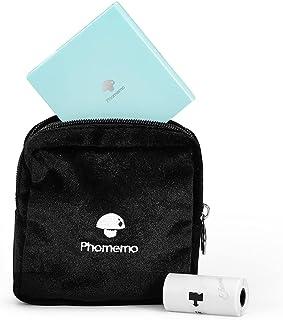 Phomemo Beschermhoes voor Phomemo M02 / M02S / M02 Pro / M110 / D30, multifunctionele damesportemonnee, zacht fluwelen ta...