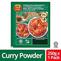 Past 39 years, the BABA'S brand has been synonymous with premium spices, true vegetarian curry powder, flour and premixes This curry powder has the influence of Indian and Malaysian cooking style Malaysia Best Brand Hot & Spicy Meat Curry Powder Suit...