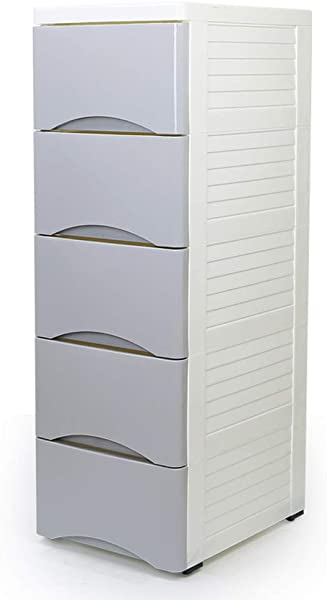 Zzg 2 Narrow Storage Box Household Clothing Finishing Cabinet Bedroom Cosmetic Plastic Locker Chest Of Drawers 18 28CM Color B Size 183883CM