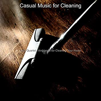 Jazz Quartet - Ambiance for Cleaning Your Room