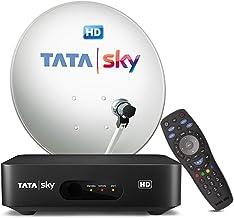 Tata Sky HD Set Top Box + 1 Month HD Hindi Basic Pack + Installation
