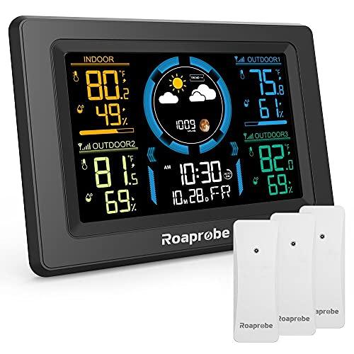 Weather Station Wireless Indoor Outdoor...