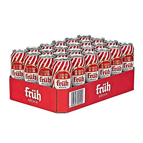 Früh Kölsch Dose Bierpaket, EINWEG (24 x 0.5 l)