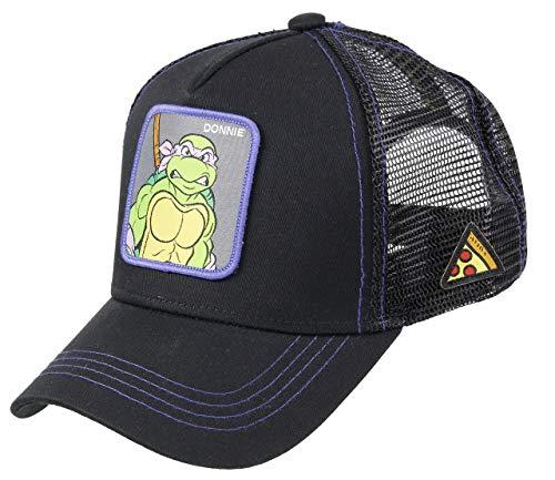 Capslab Donatello Trucker Cap Teenage Mutant Ninja Turtles Black - One-Size