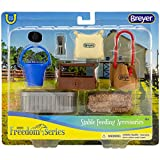 Breyer Classics Stable Feeding Horse Accessories Set Multicolor, 10.5' x 8.5'
