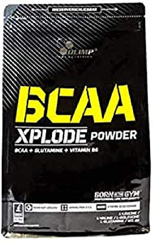 Olimp Labs Strawberry BCAA Xplode Recovery and Energy Supplement Powder, 1kg