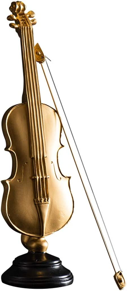 Sculpture Statue Collectible Year-end gift Figurines Import Wi Miniature Resin Violin