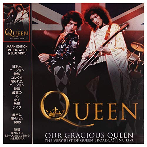 Our Gracious Queen (Jap.Ed.Red,White,Blue Vynil)