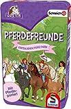 Schmidt Spiele Schleich Horse Club 51424 - Juego de Cartas en Caja de Metal, Multicolor
