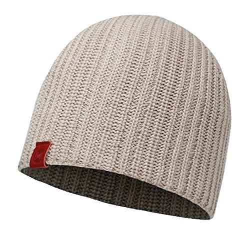 BUFF® SET - KNITTED HAT Bonnet de Hiver + UP® Tissu tubulaire   Tricoté   Doux   Vintage Aspect   Bonnet, Buff Knitted:HAAN COBBLESTONE / 2009.322.10