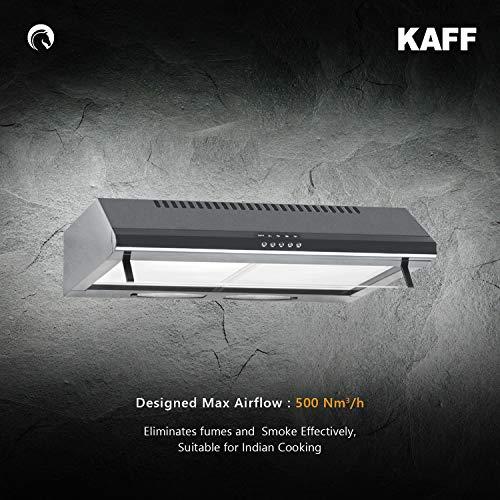 KAFF EXPO MX 60   Aluminium Filter   Soft Push Control   Black Finish