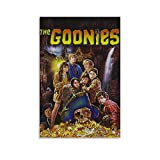 WENIN Goonies Movie Poster Canvas Art Poster and Wall Art Picture Print Modern Family Bedroom Decor Posters 12x18inch(30x45cm)
