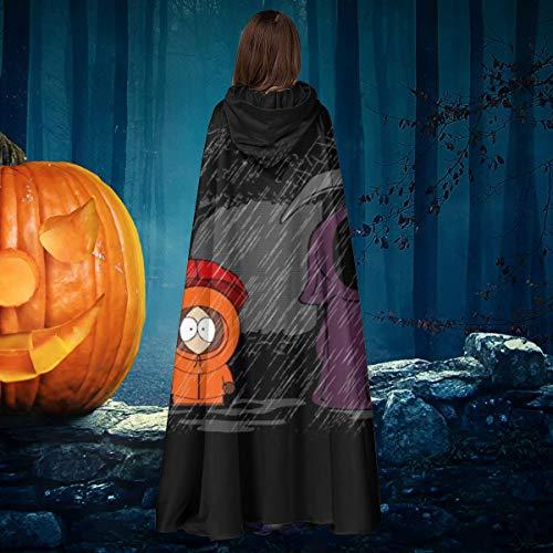 OJIPASD My Neighbor Death South Park Studio Ghibli - Disfraz de Bruja con Capucha para Halloween