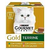 Purina Gourmet Gold Tarrine comida para gatos Surtido 12 x [8 x 85 g]