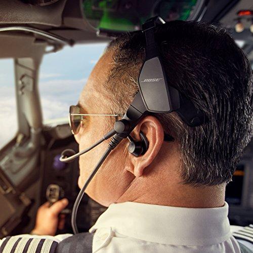 Bose ProFlight Aviation Headset, with dual plug, Black