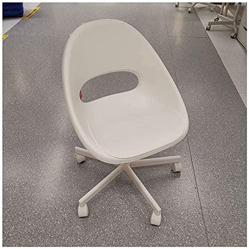 TAIDENG Silla de oficina, silla de escritorio, silla de computadora, tela moderna, respaldo bajo, silla de oficina con altura ajustable, para recepción, comedor, sala de conferencias,