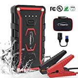 Car Jump Starter,YABER Portable Jump Starter 1500A Peak 20000mAH(All Gas and 7L Diesel) 12V UL Certified Safe Car Jumper Power Pack with Smart Jump Cable Built-in LED Light Lithium Jump Starter