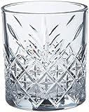 Pasabahce Set 4 Bicchieri Timeless Acqua 34,5 Arredo Tavola, 345 milliliters, Vetro, Trasparente