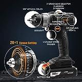 Immagine 1 trapano avvitatore batteria 20v brushless