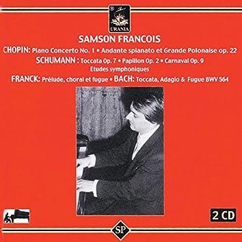 Samson Francois Plays Chopin, Schumann & Franck
