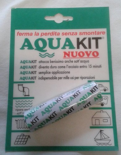 acquastilla 112621Masilla bicomponente Aquakit