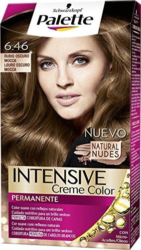 Palette Intense - Tono 6.46 Rubio Oscuro Mocca- 2 uds - Coloración Permanente - Schwarzkopf
