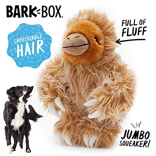 Gordon The Giant Sloth Dog Squeak Toy