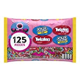 HERSHEY'S Candy Variety Mix, Jolly Ranchers and TWIZZLERS, 125 Pieces, 41.3 Oz
