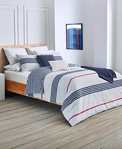 Lacoste Milady Comforter Set, King, Blue