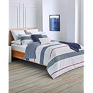 Lacoste Milady Comforter Set, Full/Queen, Blue