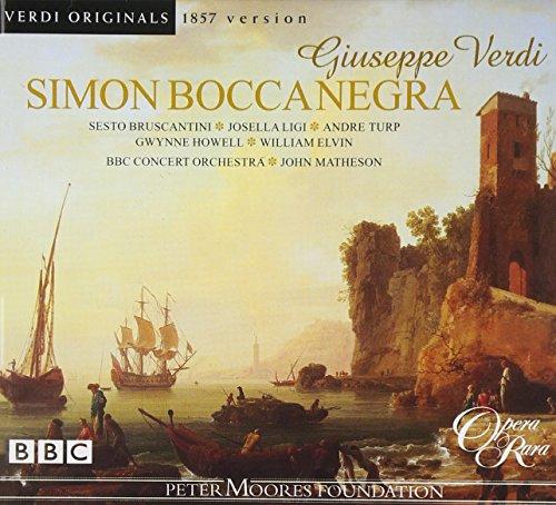 Verdi: Simon Boccanegra [Originalfassung von 1857]