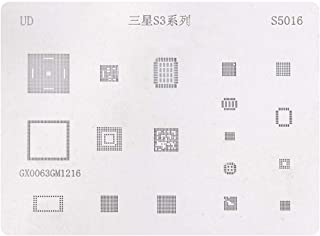 QGTONG-AU Mobile Phone Rework Repair BGA Reballing Stencils for Galaxy S III