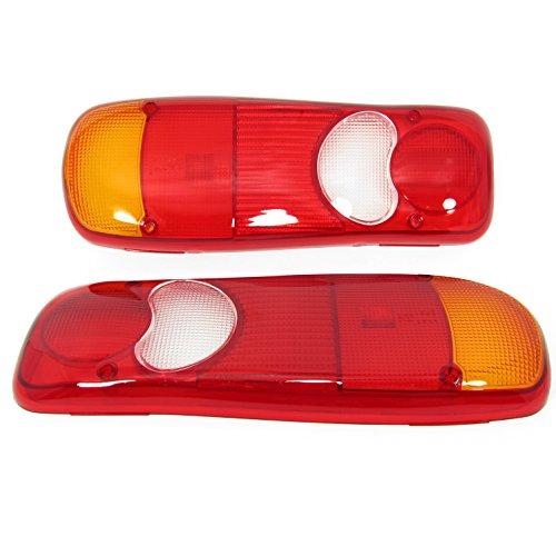 Lichtscheibe, Heckleuchte Links Rechts Glas Rückleuchtenglas Rückleuchten Rücklicht