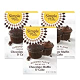 "RICH cocoa and coconut sugar come together to take your muffins, cupcakes, and cakes to the next level of goodness One 8"" round cake or 12 cupcakes per box Nothing artificial, ever. 7 Simple ingredients. Simple doesn't mean you sacrifice taste. Our b..."