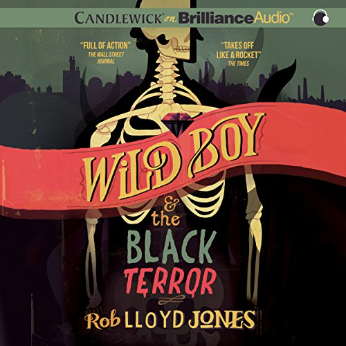 Wild Boy and the Black Terror audiobook cover art