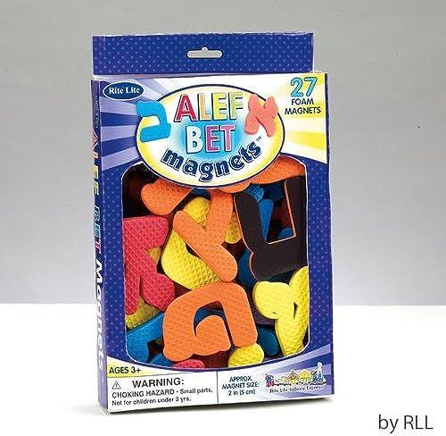 barato en línea Rite Lite Lite Lite Alef Bet mousse Aimants  productos creativos