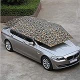 Burhetten Extra Large Oxford UV Tissu for Voiture Abri Soleil Parapluie Tente Toit Couverture 4.5 * 2.3M (Color : Camouflage)