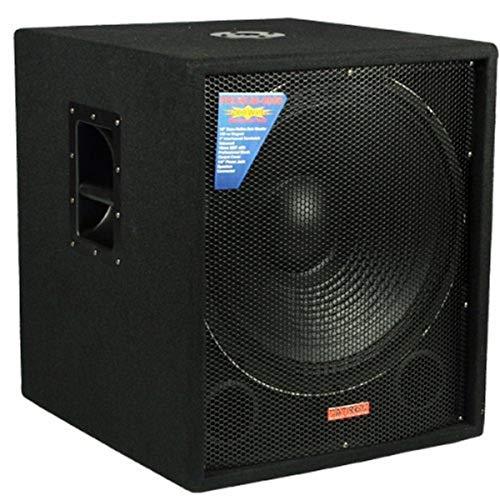 "Mr. Dj SUB4000AMP Single 18"" Dj Active Bass Amplifier 4000 Watts Max Peak Momentary Power"