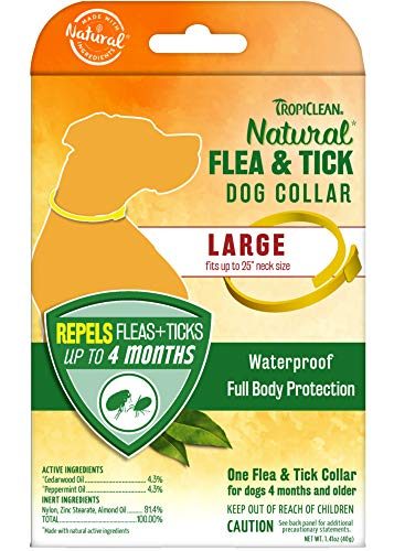 TropiClean Flea & Tick Repellent Collar
